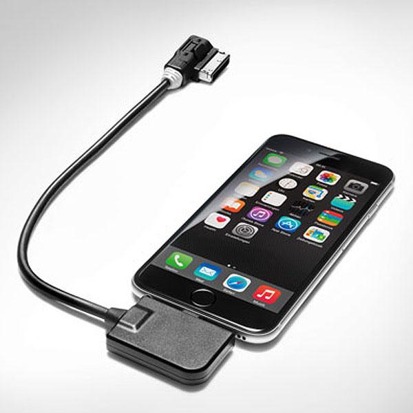 Переходный кабель для подключения Apple iPod или iPhone