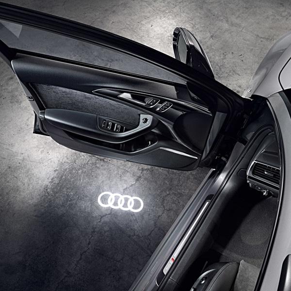 Подсветка порогов кольца Audi
